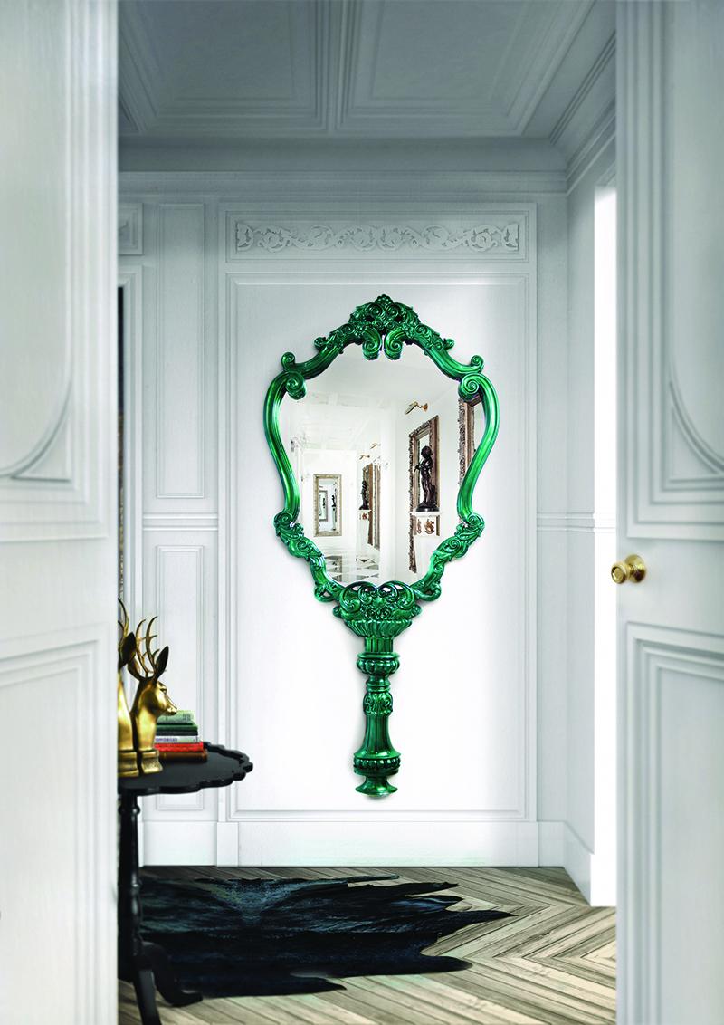 Design mirrors in the interior 27