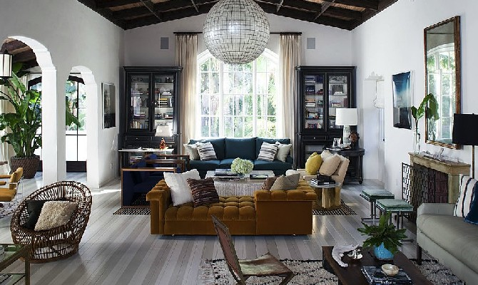 Inspirational Interior designs by Nate Berkus