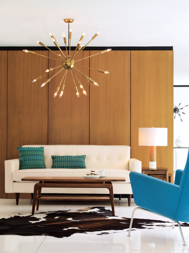 Interior Design Inspirations: how to get a mid century modern home