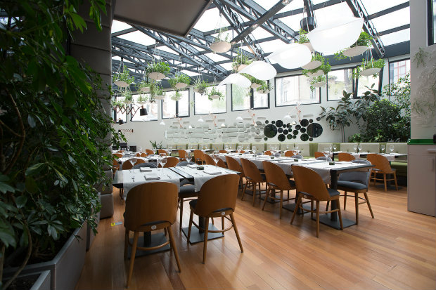 Inspiring projects: Berthelot\'s Modern Restaurant Design in Bucharest