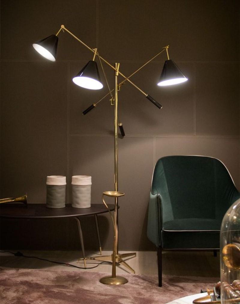mid century lighting designs