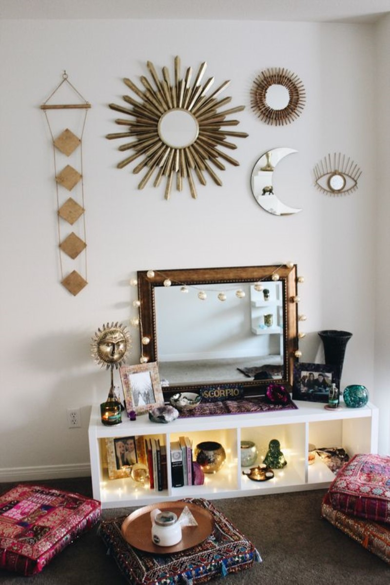 What is Hot On Pinterest 5 Top Boho Bedroom Décor 1