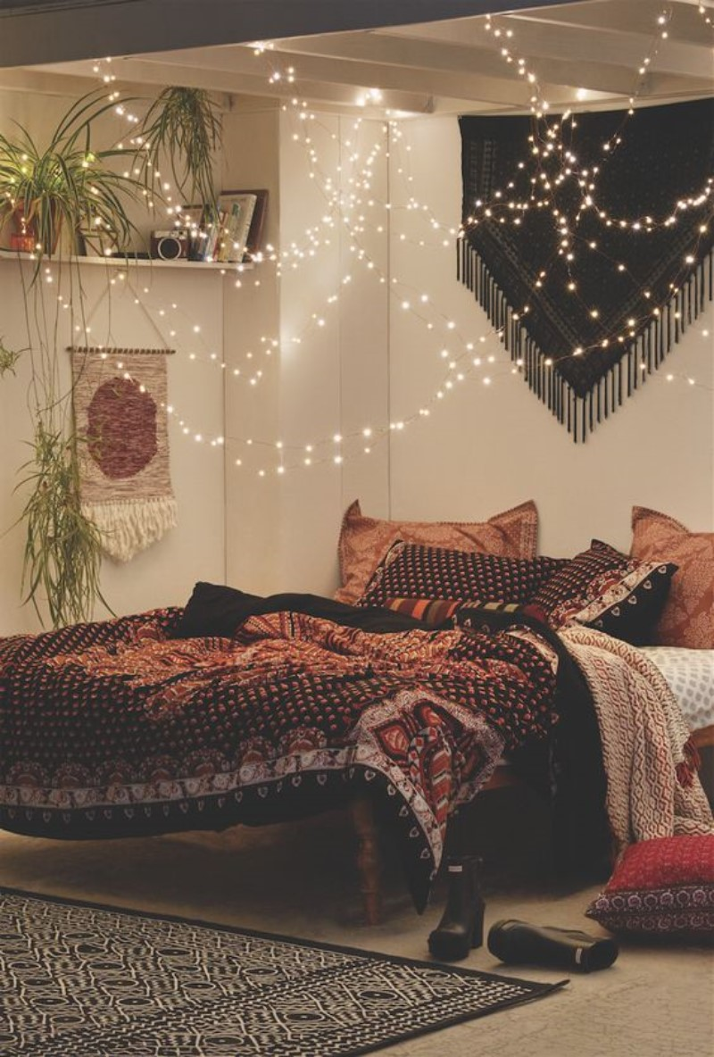 What is Hot On Pinterest 5 Top Boho Bedroom Décor 4