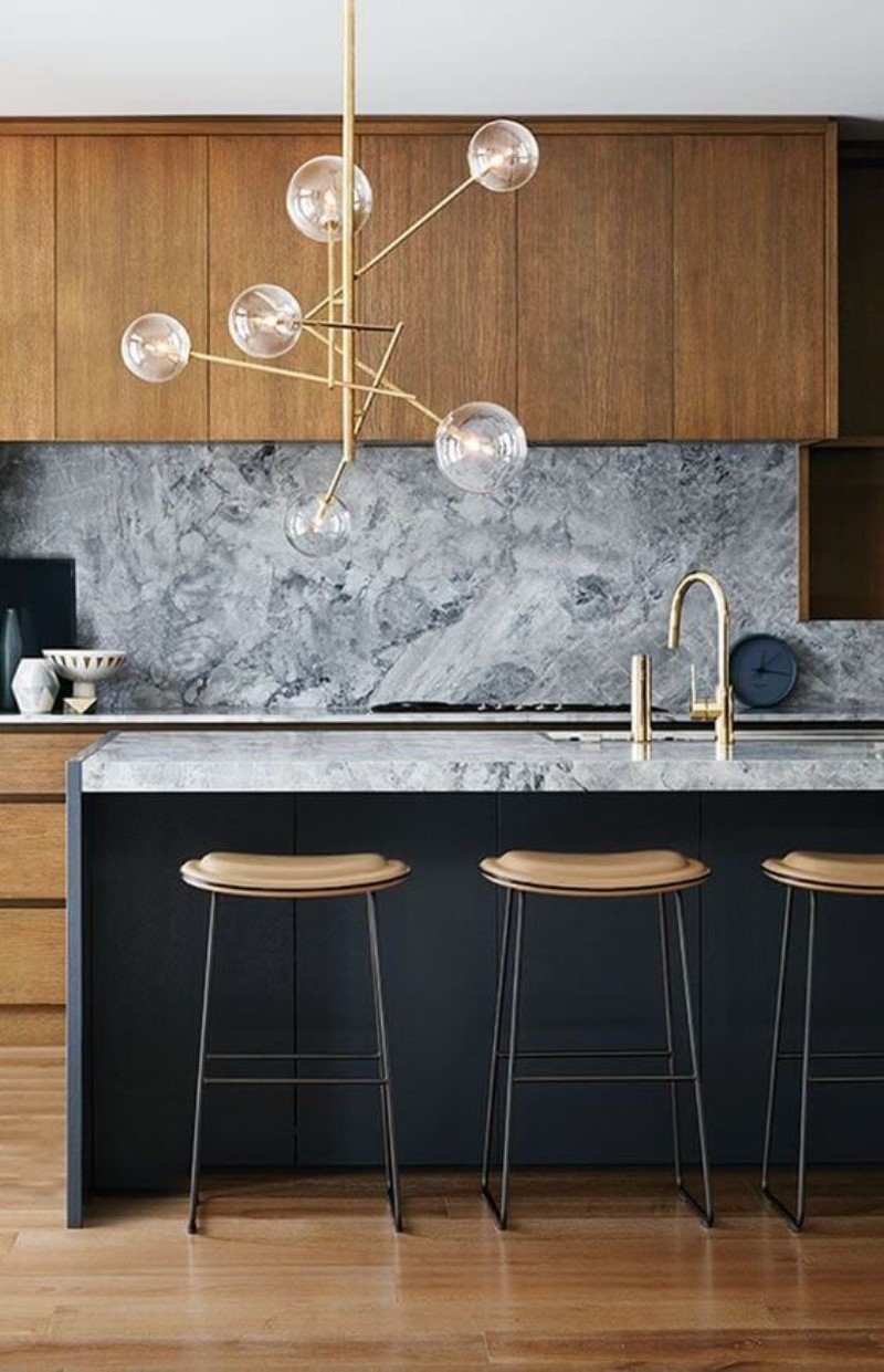 What Is Hot On Pinterest: Kitchen Modern Décor
