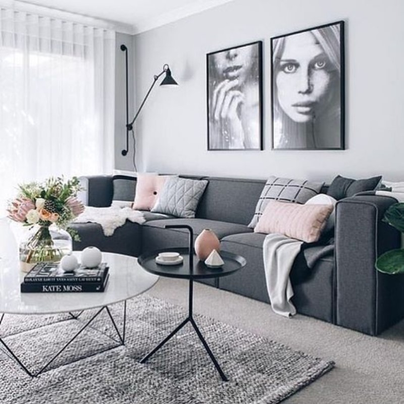 What Is Hot On Pinterest Living Room Décor 2