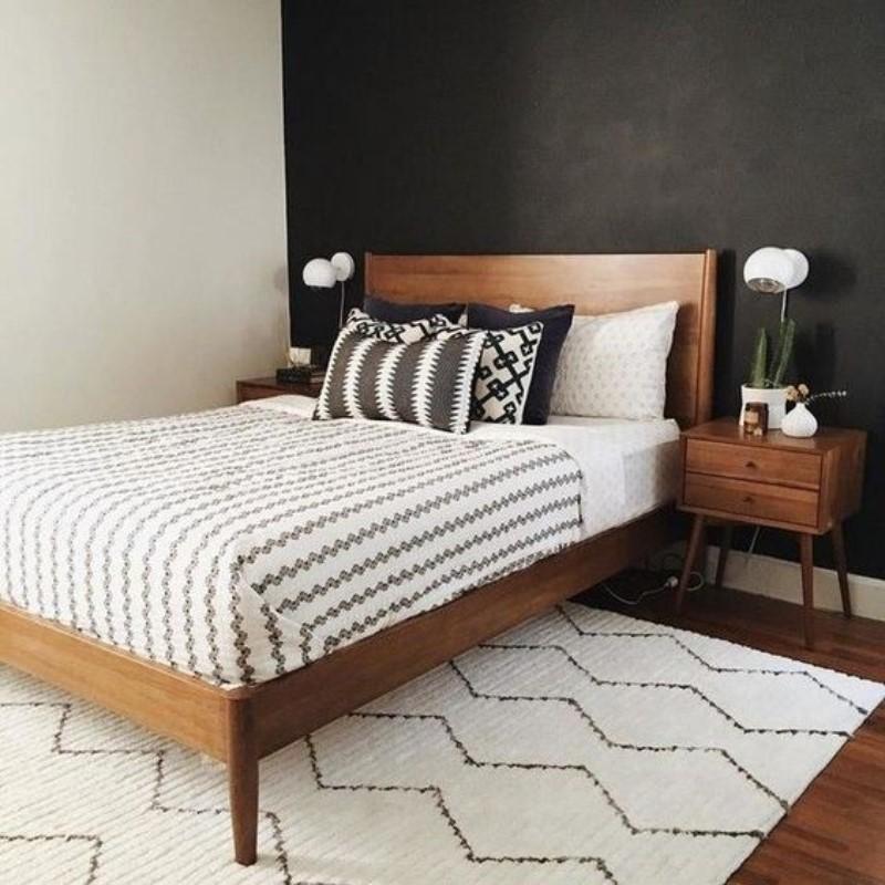 modern bedroom décor