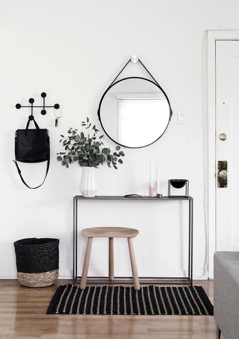 What Is Hot On Pinterest: Mid Century Hallways To Welcome You Home!