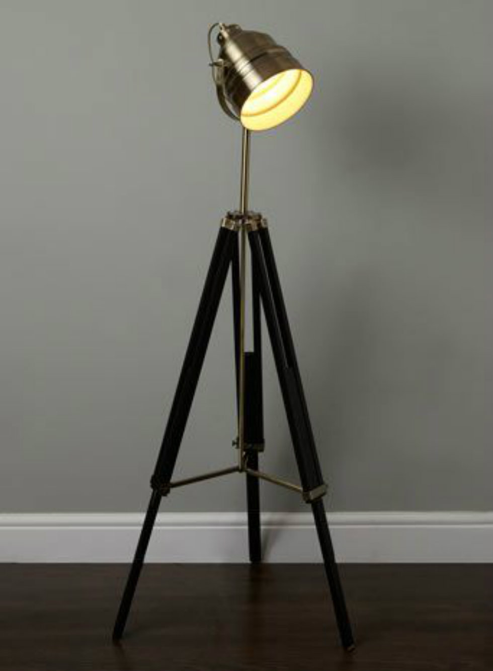Lightning Tripod Industrial Floor Lamp Lighting