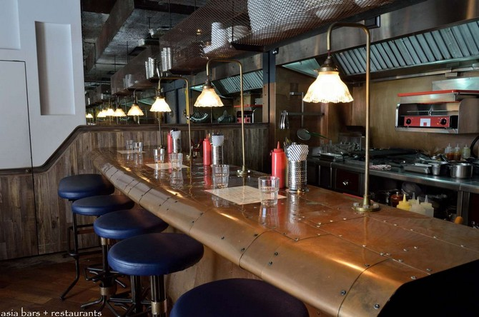 Top Bar's Decor with Cooper Light