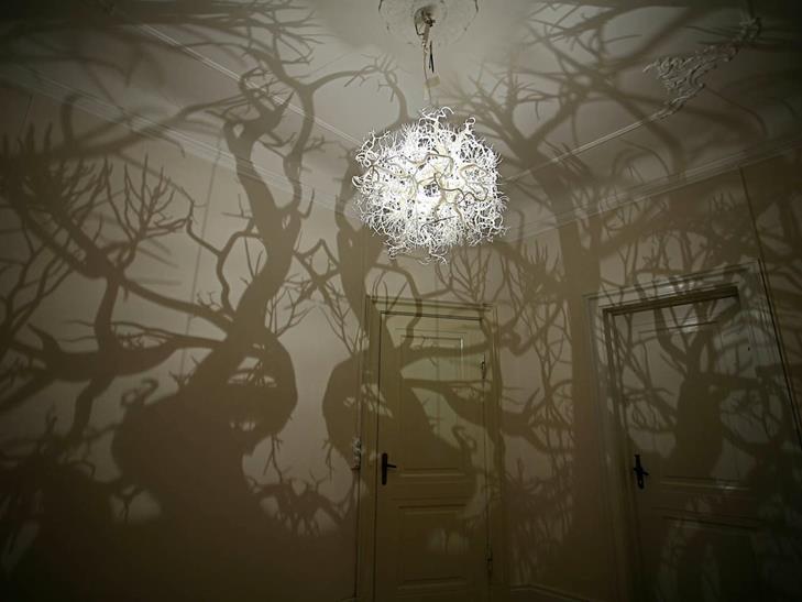 Chandelier lighting effect: a sensational Forest