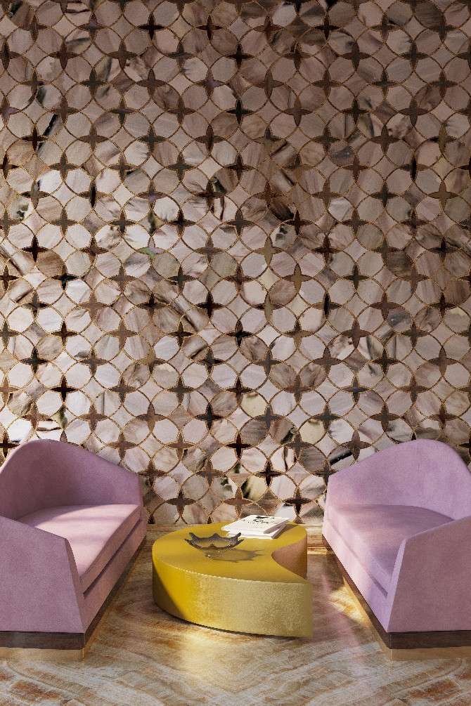 wall covering designs. Exclusive Interview with Yana Svetlova Moon and Stars wallcovering  modern designs
