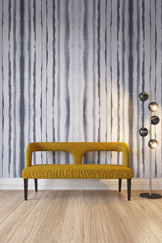 wall covering designs. Exclusive Interview with Yana Svetlova modern wallcovering designs Stripes  press
