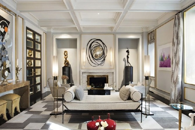 Sophisticated Living Room Designs By Jean Louis Deniot Another Contmeporary