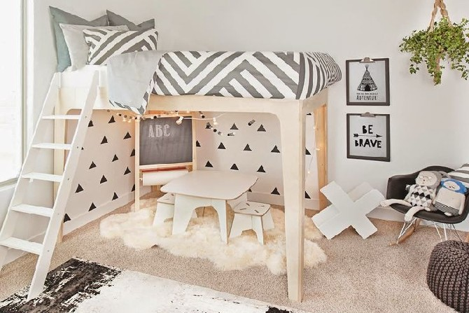 15 colorful children's room ideas black and white