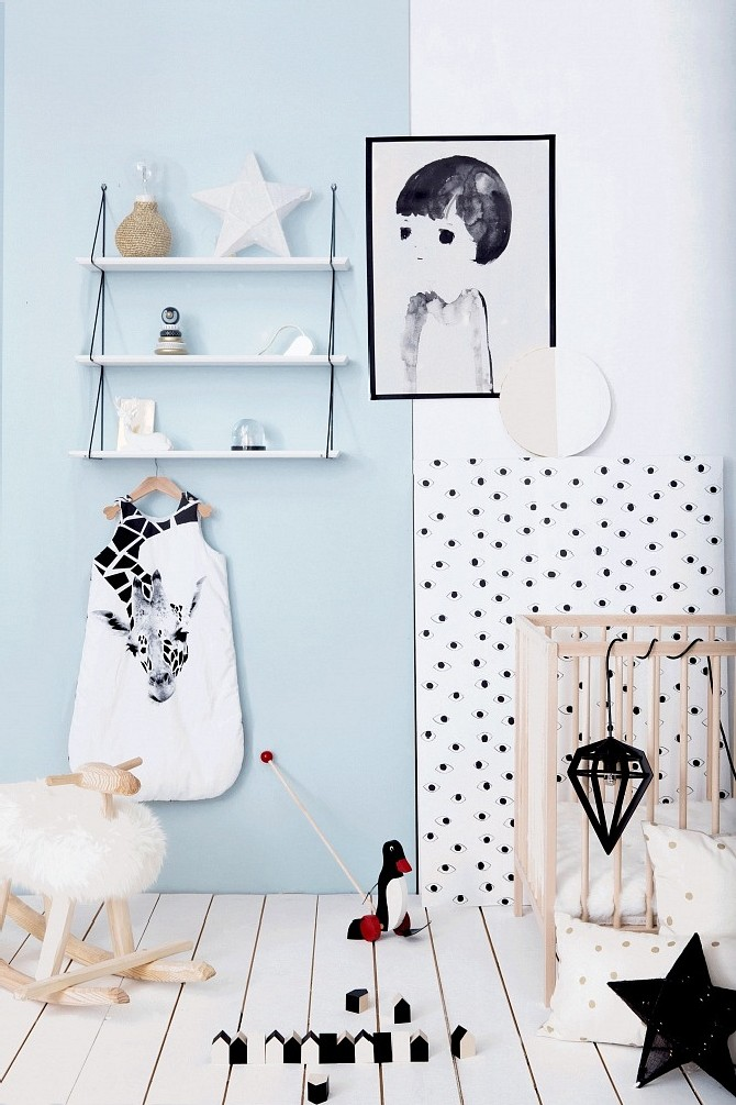 15 colorful kid's room ideas  blue walls and dots