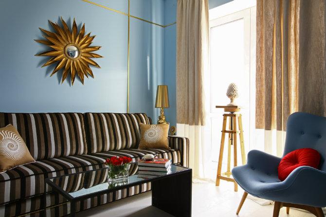 High end Apartments: Kutuzovskaya Riviera by Julia Dzhanlatyan