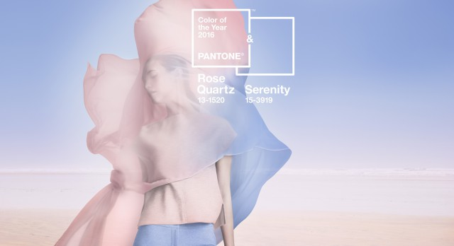 6464ce1d79 Rose Quartz   Serenity  Pantone Colors of the year 2016