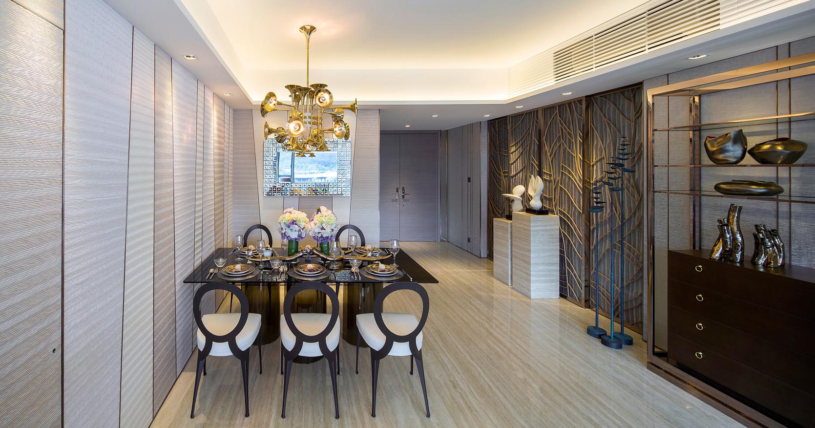 get the look 17 mid century modern glamorous dining room delightfull botti chandelier