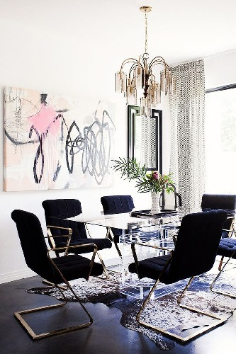 get the look 17 dining area mid century elements