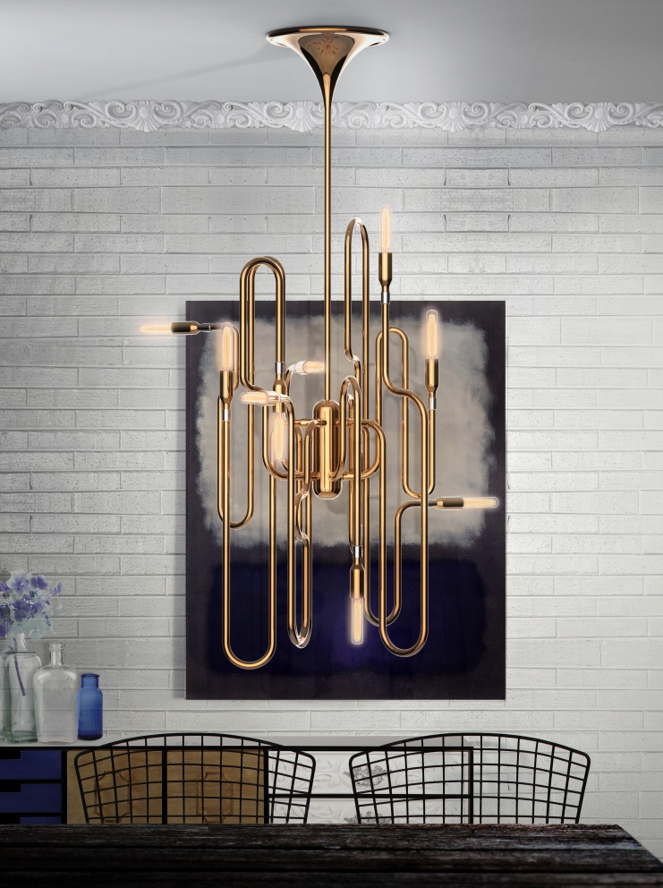 Mid century modern brass chandeliers for a hospitality project mid century modern brass chandeliers for a hospitality project mid century modern mid century modern brass aloadofball Gallery