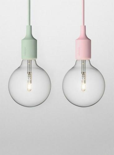 pastel suspension lamps dois
