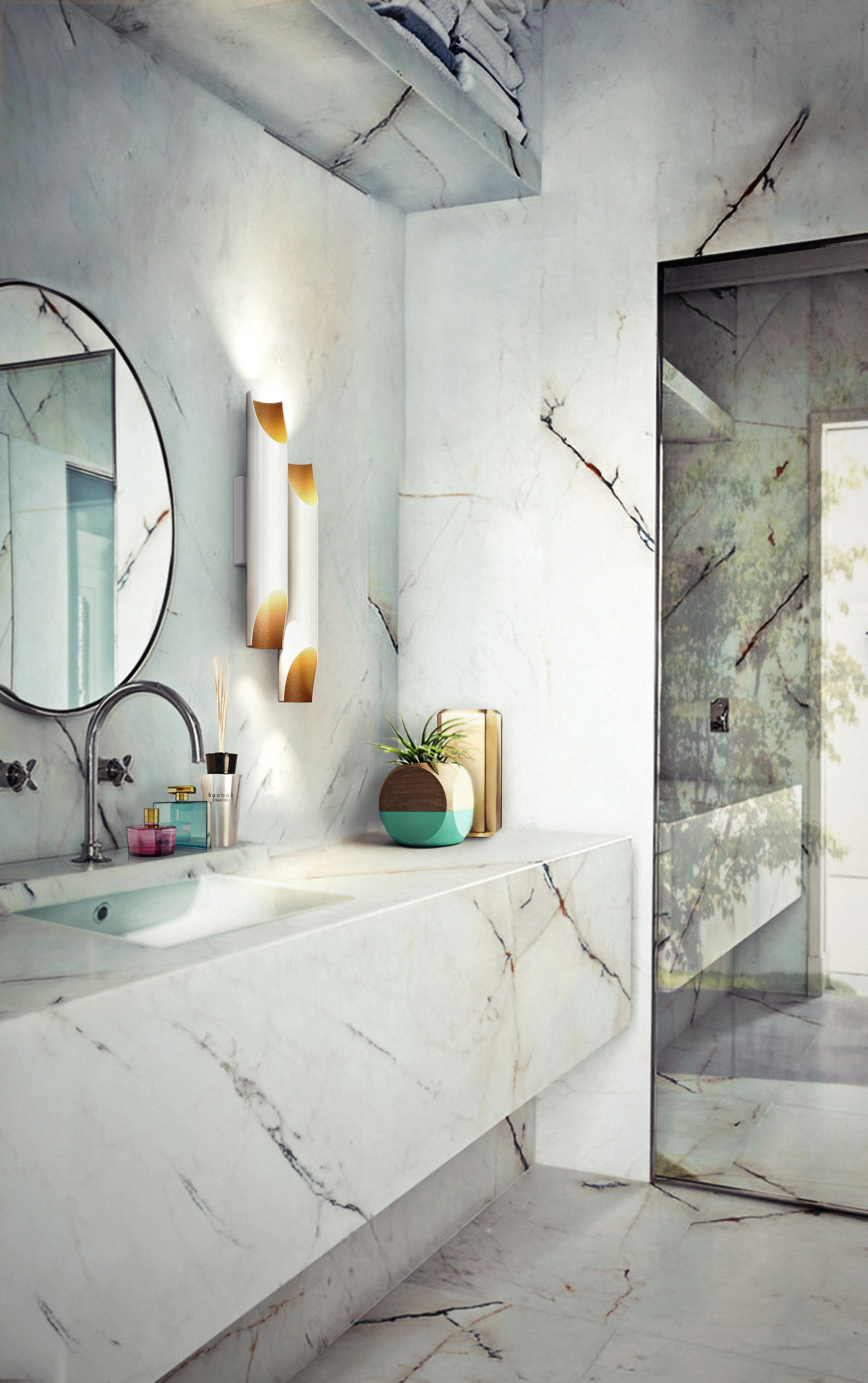 How To Use Pendant Lights In A Bathroom Design Unique Blog