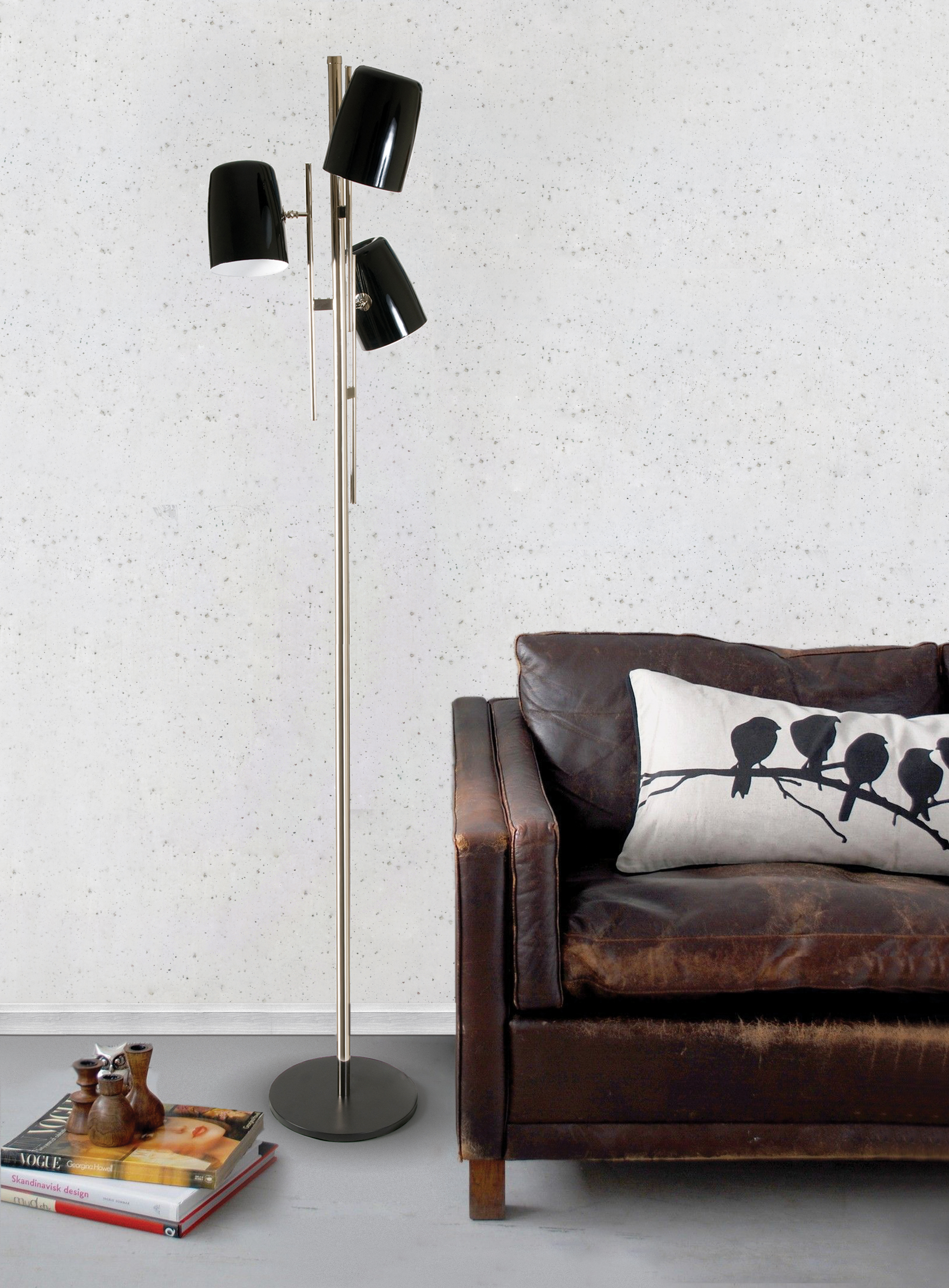 Give your living room a modern lamp