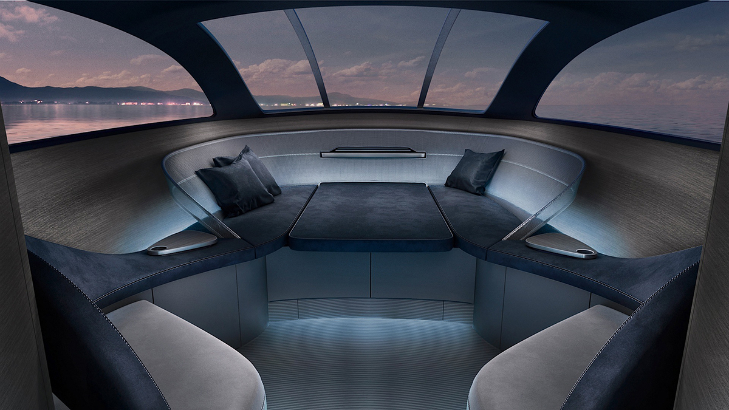 Design of the first Superyacht by Mercedes revealed
