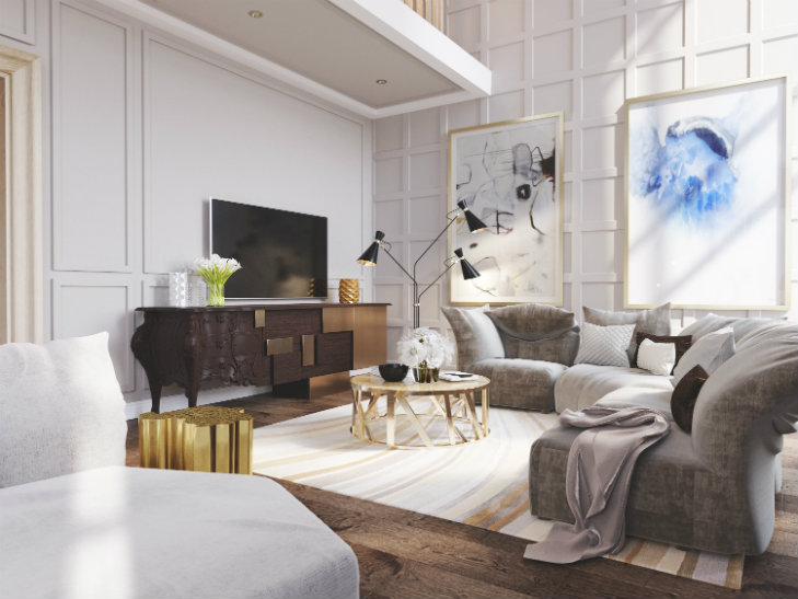 Top designers in Russia luxury projects by FULL HOUSE DESIGN STUDIO