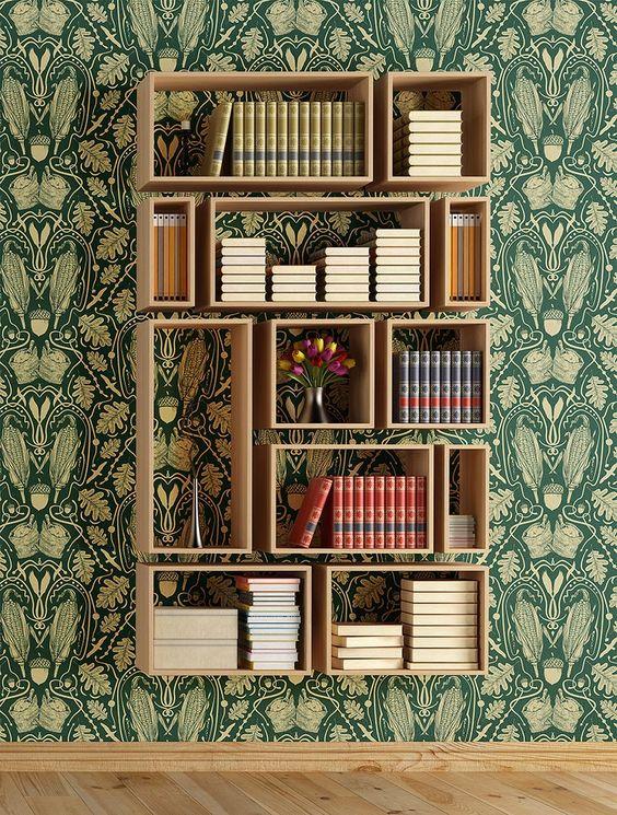 Bookshelf home decor