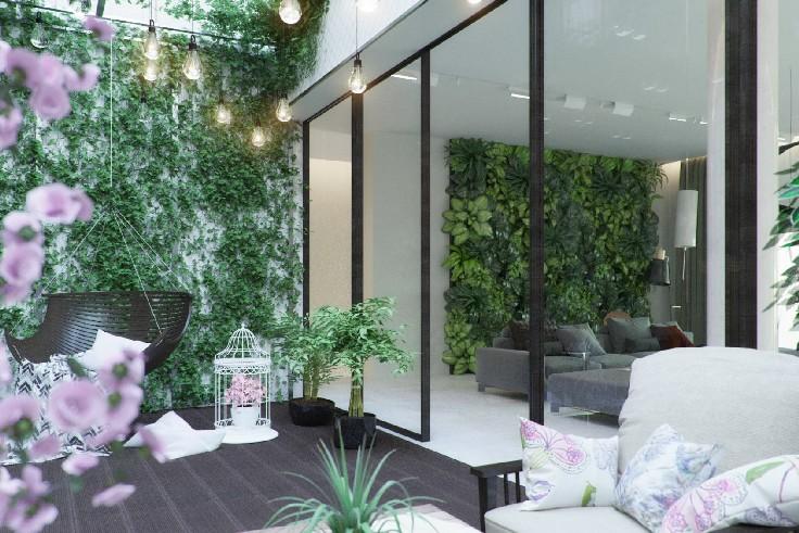... A CONTEMPORARY LIVINGROOM PROJECT NAMED ECO ATRIUM Living Room A CONTEMPORARY  LIVING ROOM PROJECT NAMED ECO ...