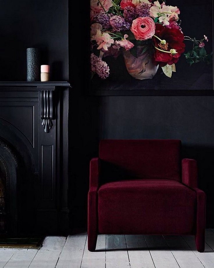 Elegant Add These Dramatic Living Room Ideas To Your Moodboard Living Room Ideas  Add These Dramatic Living Awesome Design