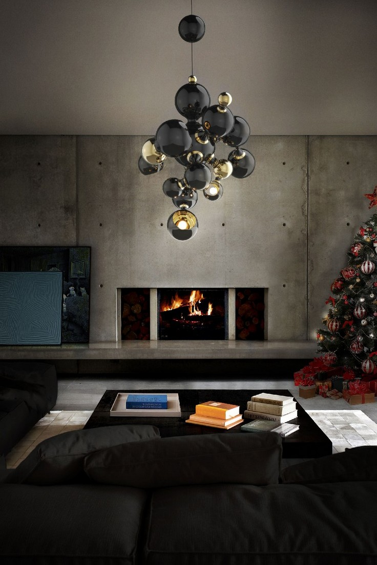 Add These Dramatic Living Room Ideas To Your Moodboard Living Room Ideas Add  These Dramatic Living