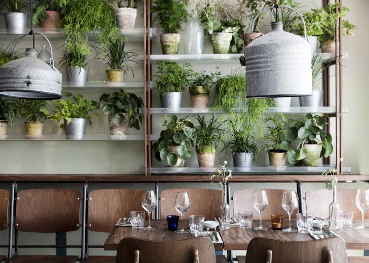 Genbyg Creates Indoor Garden Made Of Recycled Materials 1