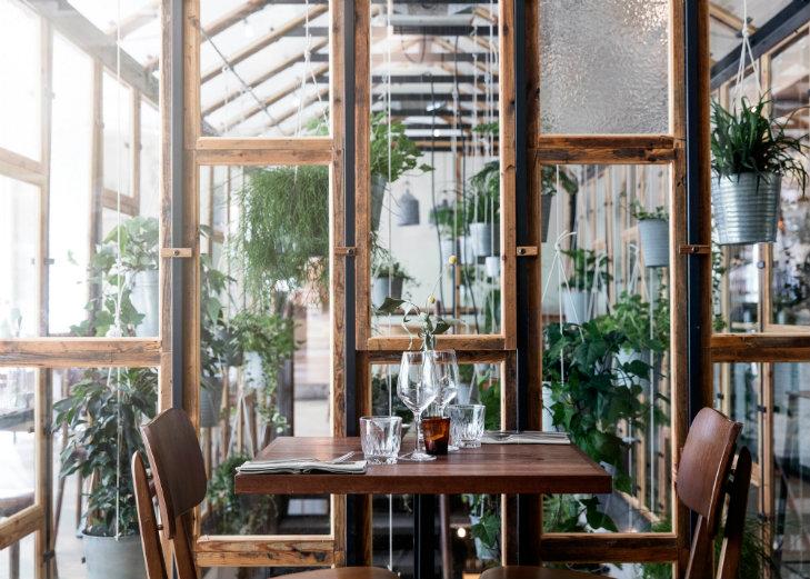 Genbyg Creates Indoor Garden Made Of Recycled Materials