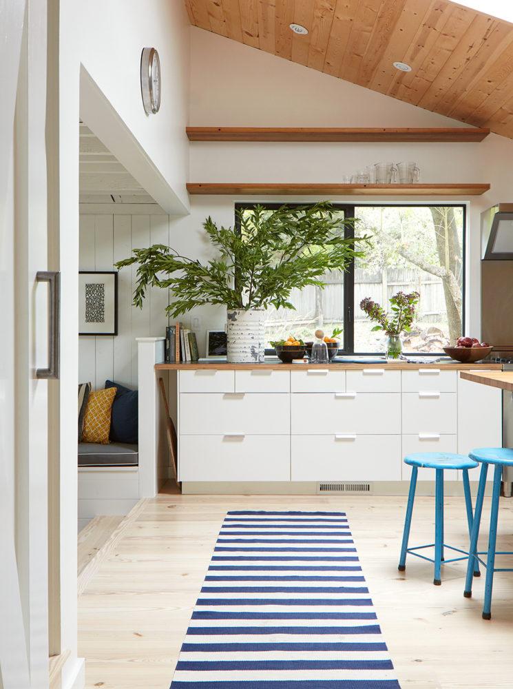 Midcentury Modern Kitchen White