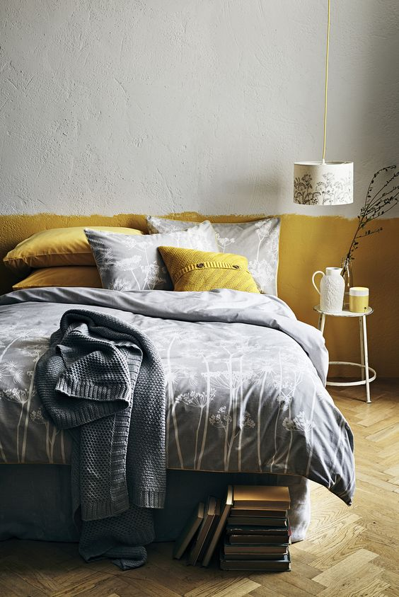 How to give your bedroom for a fall and winter look