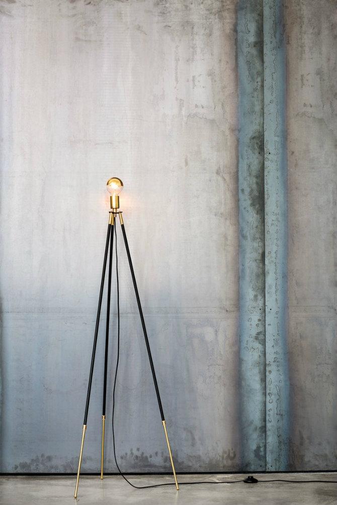 floor fluo equilibre stardust modern prandina lamp