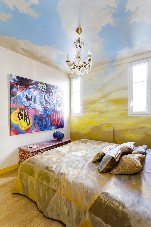 the shift a feng shui modern home in paris. Black Bedroom Furniture Sets. Home Design Ideas
