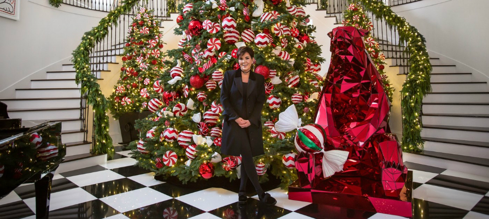 See what's Kris Jenner's favourite Christmas decor ideas