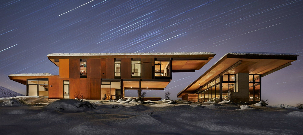 Architecture: Breathtaking Mid-Century Home Sits on Glacial Valley