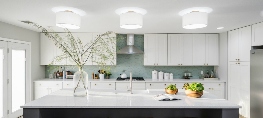 Room Of The Week Scandinavian White And Gray Open Concept Kitchen