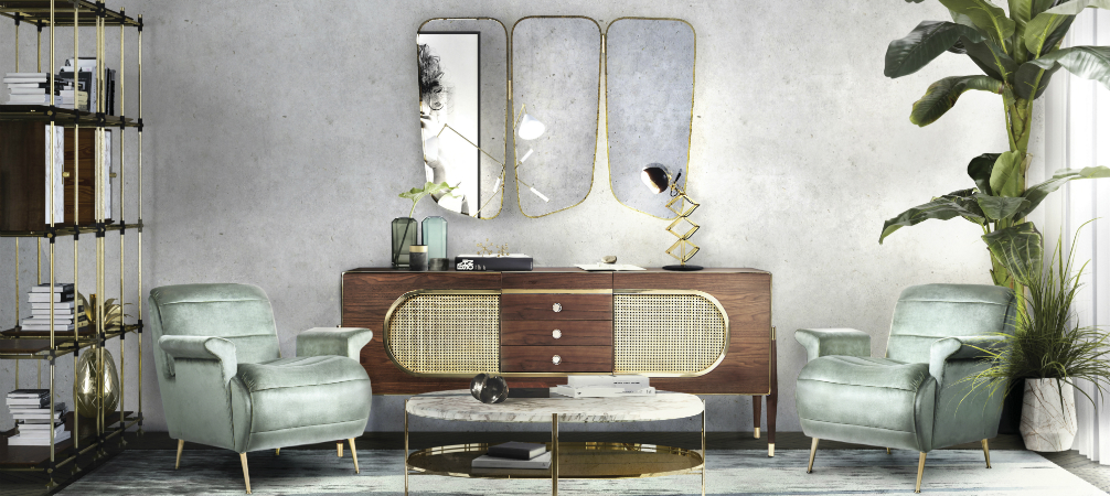 Feel Inspired by These 20 Mid-Century Living Room Ideas | Unique Blog