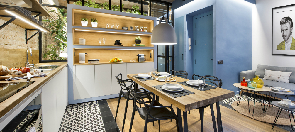 Scandinavian Interior Design in a Lovely Barcelona Small House