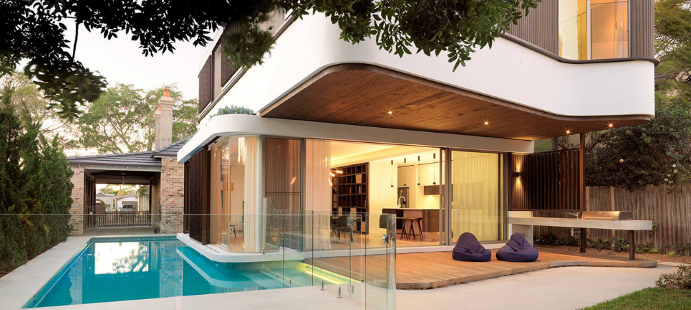 Architecture- A Modern House Design with an Impressive Swimming Pool!