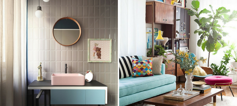 How To Rock Retro Chic Decor All Summer Long
