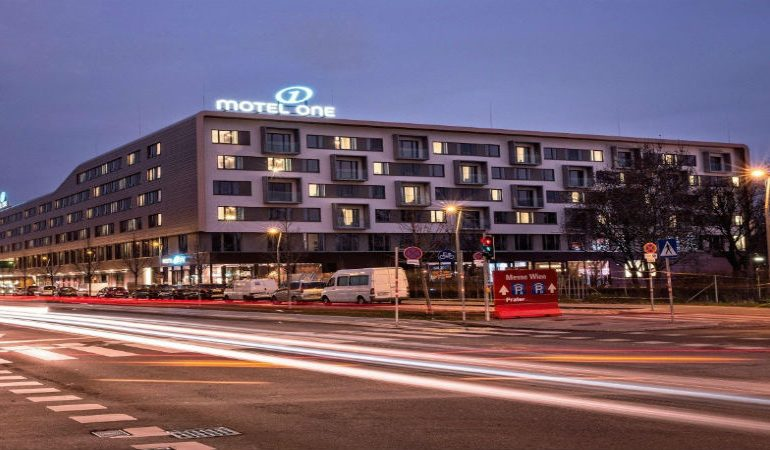 "Motel One in Vienna takes ""stay overnight"" to another level!"
