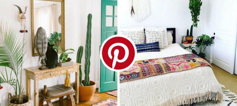 What S Hot On Pinterest 5 Bohemian Interior Design Ideas 2