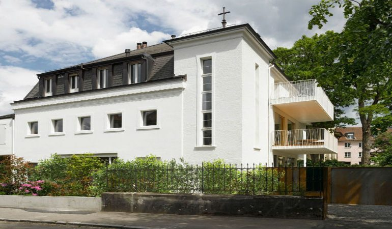 See how a Chapel became a Home in Switzerland!