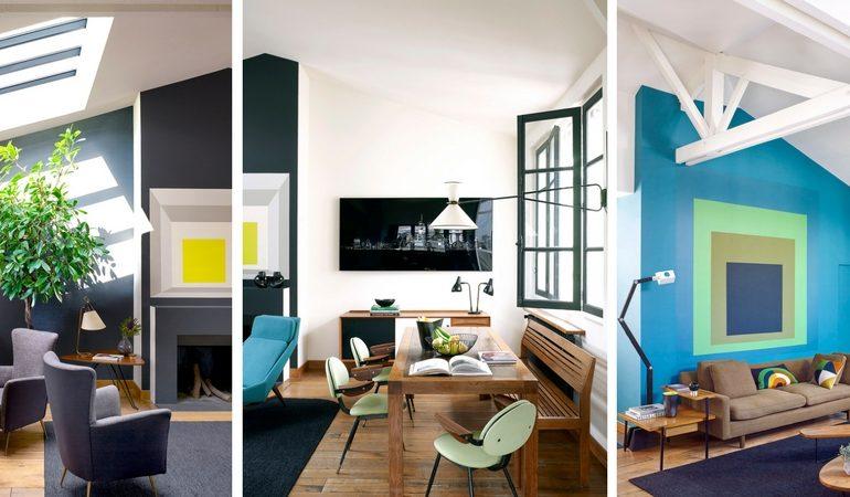House Tour- An Eclectic Mix of Vintage Furniture in a Paris Loft FEAT